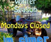 Mondays Closed