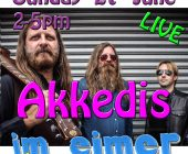 live: Akkedis 27th June